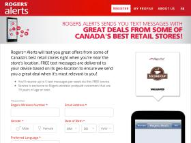 Rogersalerts Coupons